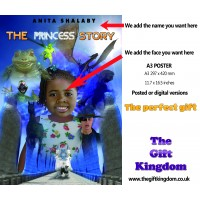 The Princess story - A3 POSTER  'Friends around'