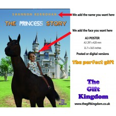 The Princess story A3 Poster 'On the horse'