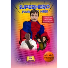 SUPERHERO COMIC BOOK (Personalised)