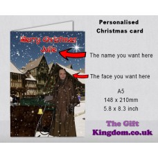 Personalised Christmas Card #1