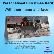 Personalised Christmas Card #2